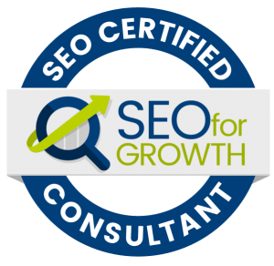 SEO FOR GROWTH CERTIFIED CONSULTANT