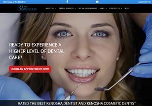 Dentist Web Design Samples - Pat Crawford DDS