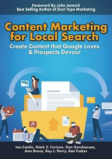 Content Marketing For Local Search Book Cover